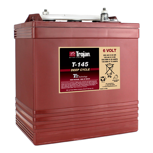 6 Volt Deep Cycle Golf Cart Battery