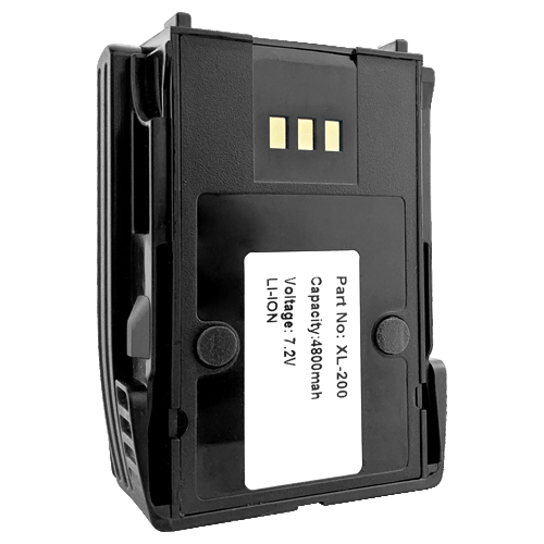 Replacement for Harris XL-200P Two Way Radio Battery 4800mAh Lithium Ion