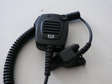 Tank Brand  Heavy Duty Shoulder Microphone for Motorola Side Connector HT1000 XTS Series