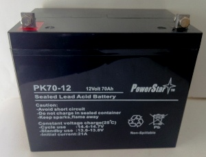 PowerStar 12V 70AH SLA Battery