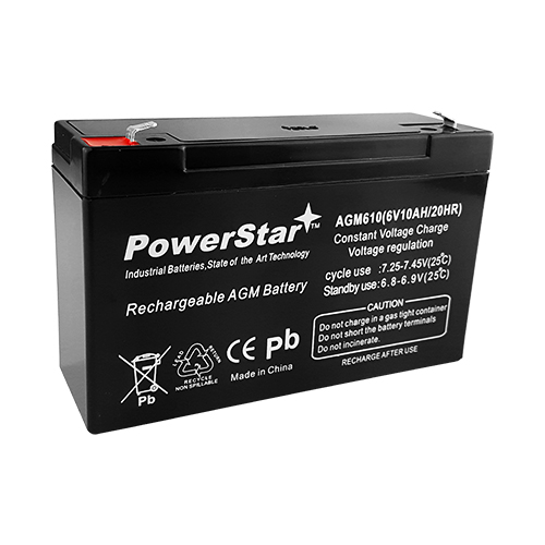 MK / East Penn ES10-6 Replacement SLA Battery