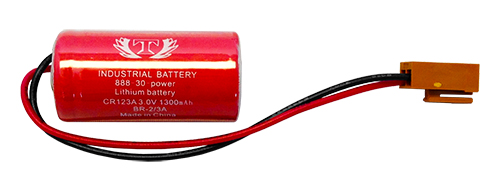 Tank Brand  Battery for Panasonic BR-2/3A Lithium battery 3V with plug