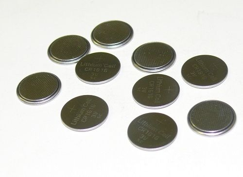 CR1616 Battery Lithium 3V Coin Cell (10 Pack)