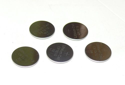 5 Pack Replacement CR1616 3 Volt Lithium Based Coin Button Cell Battery-1YR Warr