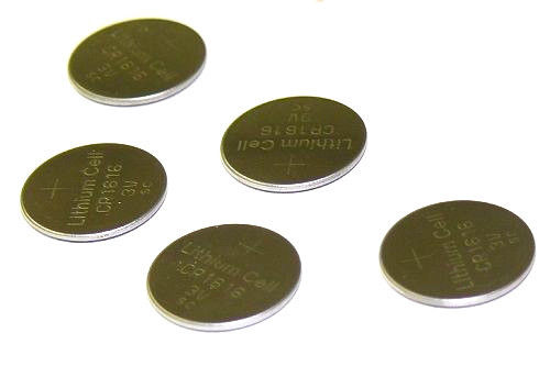 Tank Brand  Replacement CR1620 DL1620 5009LC 208-208 Lithium cell battery 5 Pack