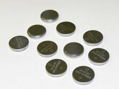 10pcs CR1632 BR1632 DL163200 ECR1632 3V Electronic Coin Cell Button Battery