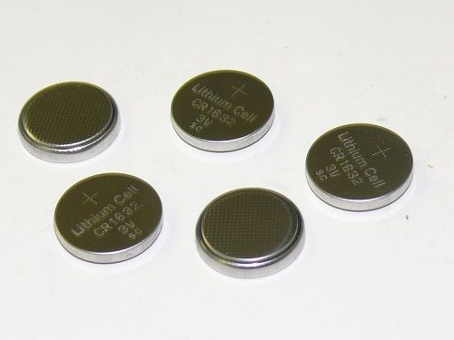 5pcs CR1632 CR 1632 3V Lithium Coin Cell Button Battery Batteries ~ USA SHIPPER