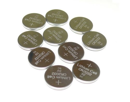 Replacements for Sony CR2032 3V Lithium Coin Battery (10 Coin Cells)