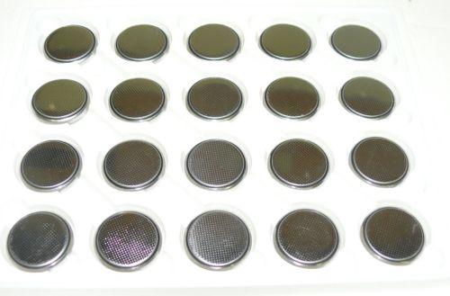 Wholesale 20pcs New CR2032 DL2032 ECR2032 5004LC Button Cell Battery Cells