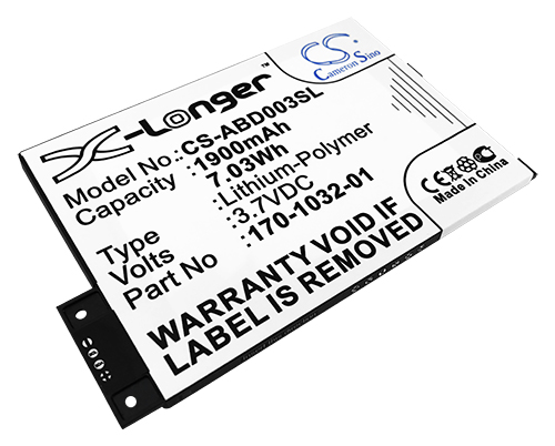 Kindle 3 CS-ABD003SL Replacement battery by Tank Brand