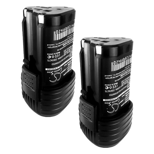 2PACK - Replaces WORX 12V Power Tool Battery(s): WX382 WX125 WX540 WX521 & WX673