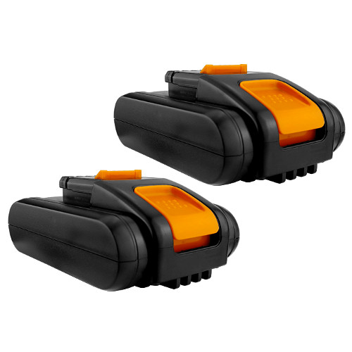 2x - Battery(s) for WORX 20V Power Tools: WG154E, WG160E, WG160E.5, WG169E