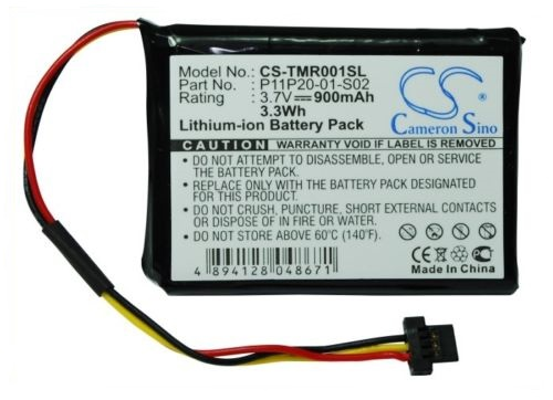 Tank Brand ® NEW Battery for TomTom Route XL GPS 3.7V 900mAh P11P20-01-S02 USA STOCK