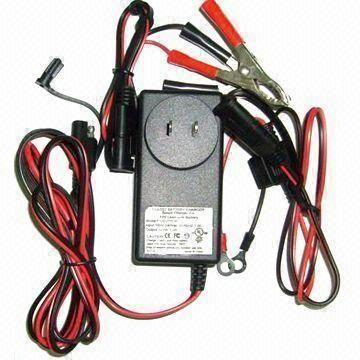 Titan by BatteryJack inc.  12V/1A Lead-acid Battery Charger with