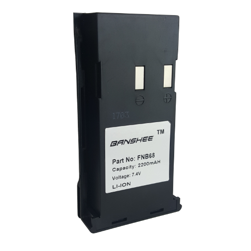 Replacement for Yaesu-Vertex FNB-68 FNB-69 2200mAh Battery