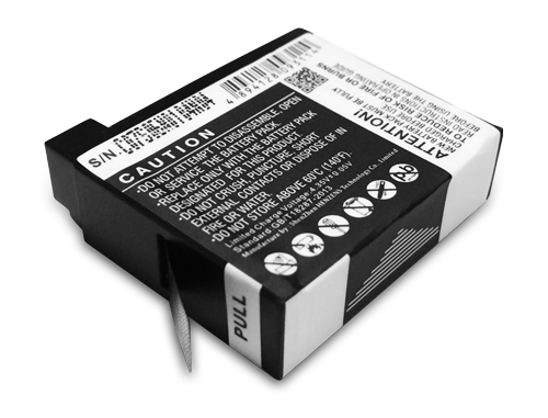GoPro Hero 4 Spare/Replacement Battery 1160mAh (2 Pack)