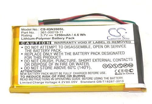 Garmin Nuvi 255W Replacement Battery