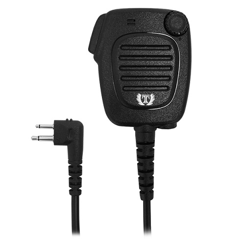 High Quality Heavy Duty Hand Shoulder Mic Speaker Motorola Walkie Talkie 2 Pin