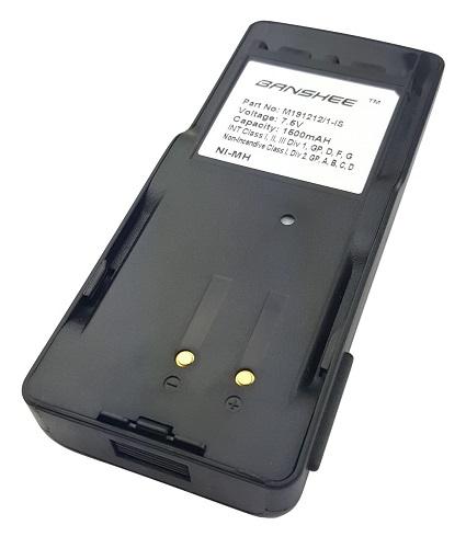 GE - Ericsson EDACS 300P Replacement Battery - 7.5V / 1500 mAh / NiMH