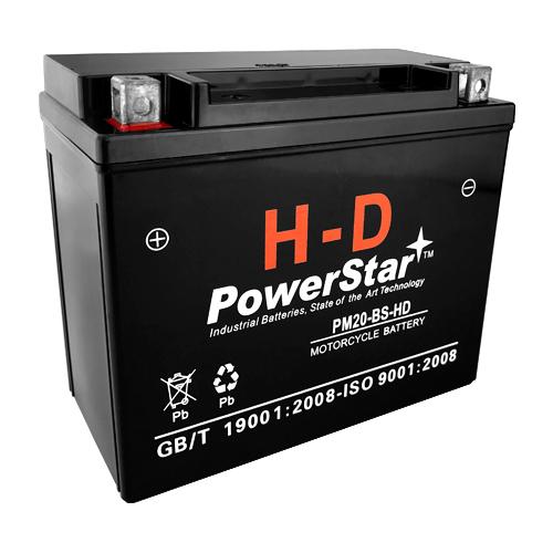 20-BS PowerStar HD SLA AGM Battery