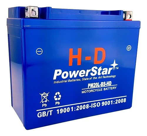 Harley Davidson 20L-BS SLA AGM Motorcycle Battery