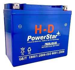 260CCA Motorcycle Battery for HARLEY-DAVIDSON FXST FLST Softail 1450CC 00-06