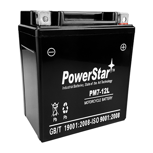 Replacement YTX7L-BS Motorsport Maintenance Free Battery