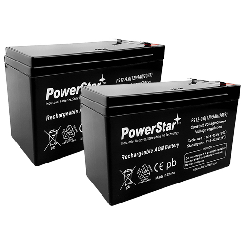 PowerStar--Razor MX350 Dirt Rocket Replacement Batteries
