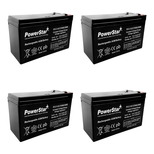 PowerStar-9AH HIGH RATE RBC25 UPS Battery Pack SU1400RMXL3U RBC8 RBC23 RBC2