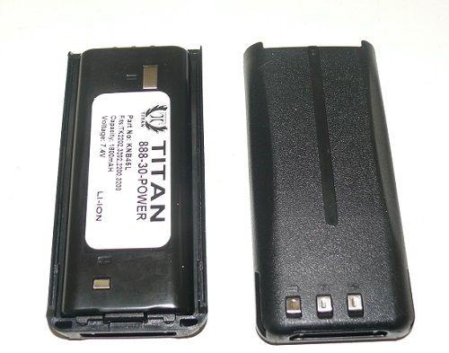 Titan 2 KNB-45L 2000mAh Battery for KENWOOD TK-2200L TK-3200L TK-2207 TK-3207 TK-2312 at Sears.com