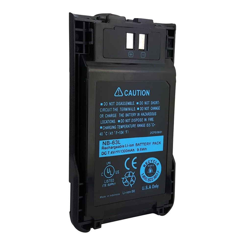 1300mAh KNB-63L KNB-65L Battery for KENWOOD TK-2000 TK-3000 TK-3501 TK-U100