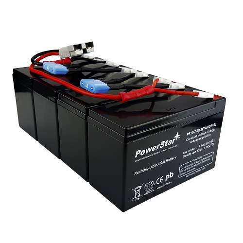 APC RBC25 - APC UPS Replacement Battery Kit includes Plug & Play Harness