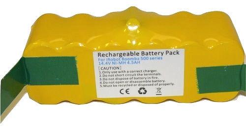 Tank Brand ®Battery 4.5Ah 14.4V for iRobot Roomba R3 500 540 562 Series Vacuum Cleaner