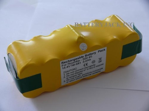 iRobot Roomba 500 Replacement Battery HIGH CAPACITY NiMh - 2 YEAR WARRANTY