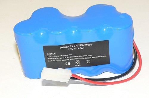 3000mAh 7.2V Battery XB1918 For Shark V1917 V1950 VX3 Cordless Vacuum Sweeper