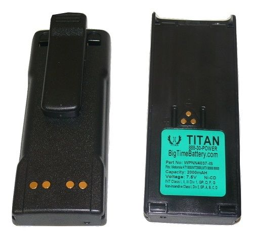 2 x 2000mAh Intrinsically SafeNTN7144 Battery for MOTOROLA HT1000 MT2000 MTS2000