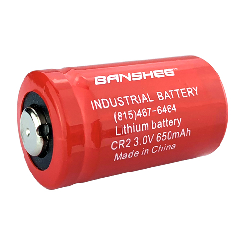 Banshee Replacement for CR2 650mAh 3V Lithium (LiMNO2) Button Top Photo Battery - 6 Pack