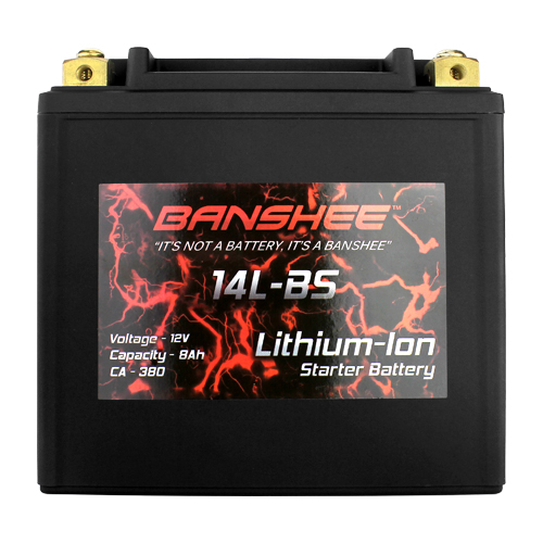 Lithium YTX14L-BS Motorcycle Battery
