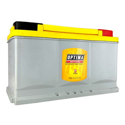 Optima AGM Yellow Top Battery DH7 Group Size 7 880 CCA